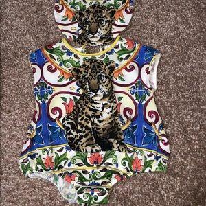 Dolce & Gabbana Baby Grow Size 3-6 Months